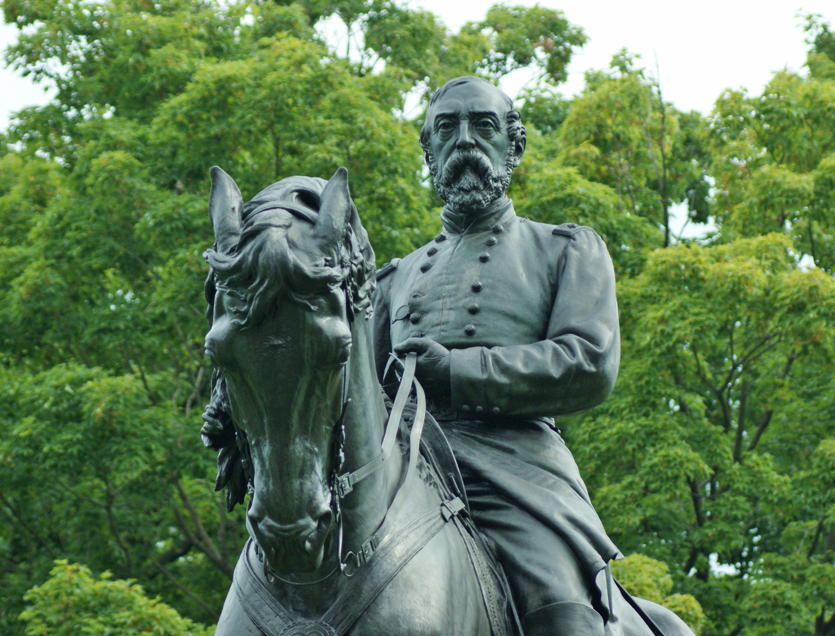 """Major General George Gordon Meade"" by Alexander Milne Calder. Photo © 2013 for the Association for Public Art"
