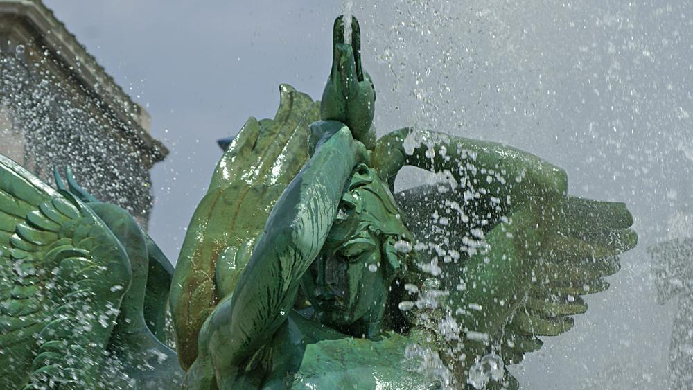 Alexander Stirling Calder's Swann Memorial Fountain