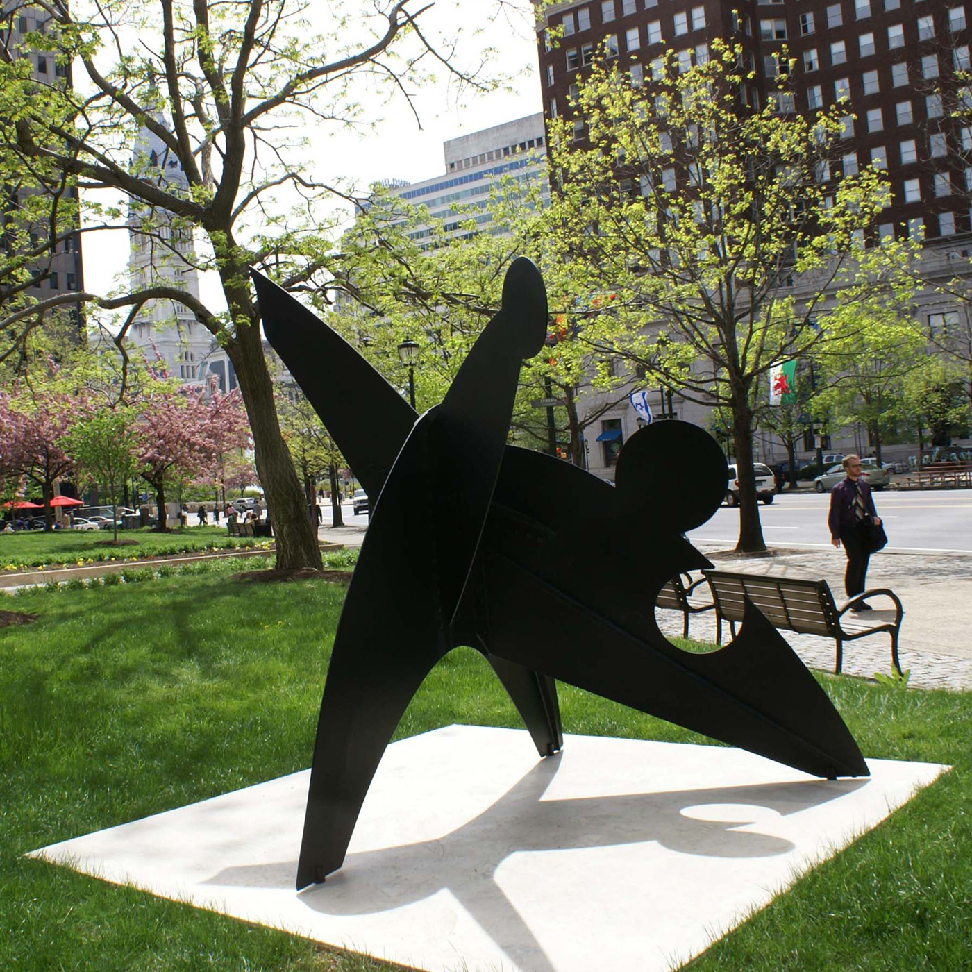 Three Discs, Once Lacking by Alexander Calder