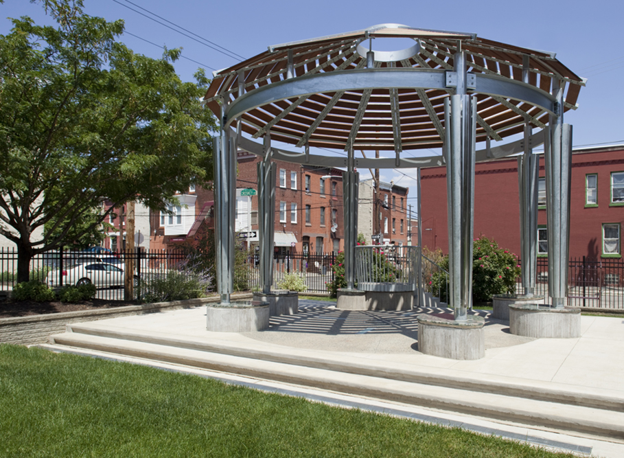 <em>Sanctuary</em>. Photo Gregory Benson for the Association for Public Art.