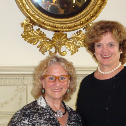 aPA Executive Director Penny Balkin Bach attends a luncheon with First Lady Susan Corbett at the Governor's residence in Harrisburg