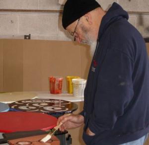 """Artist Rafael Ferrer restores """"El Gran Teatro de la Luna."""""""