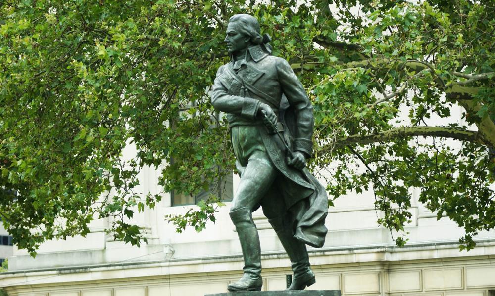 Lorenzo Gonzalez's statue of Francisco de Miranada