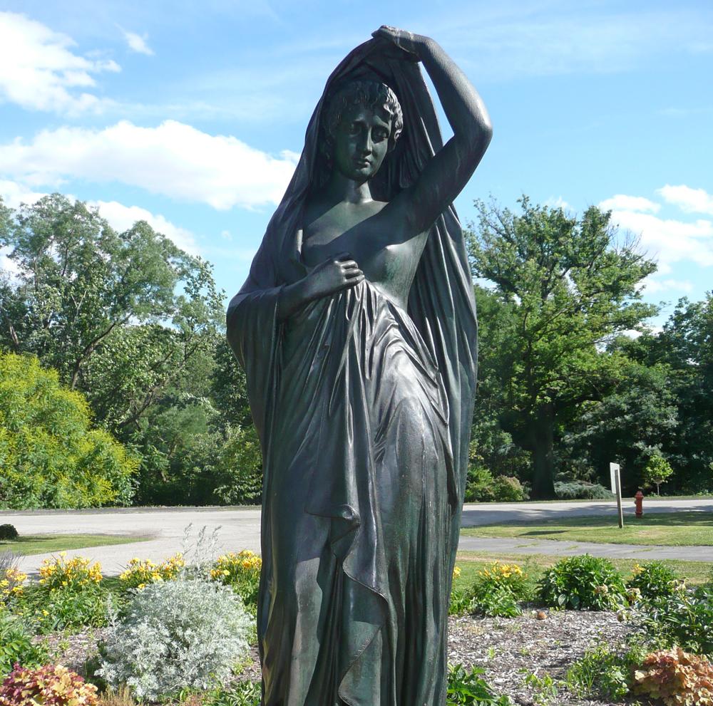 """Edward Stauch's """"Night"""" sculpture"""