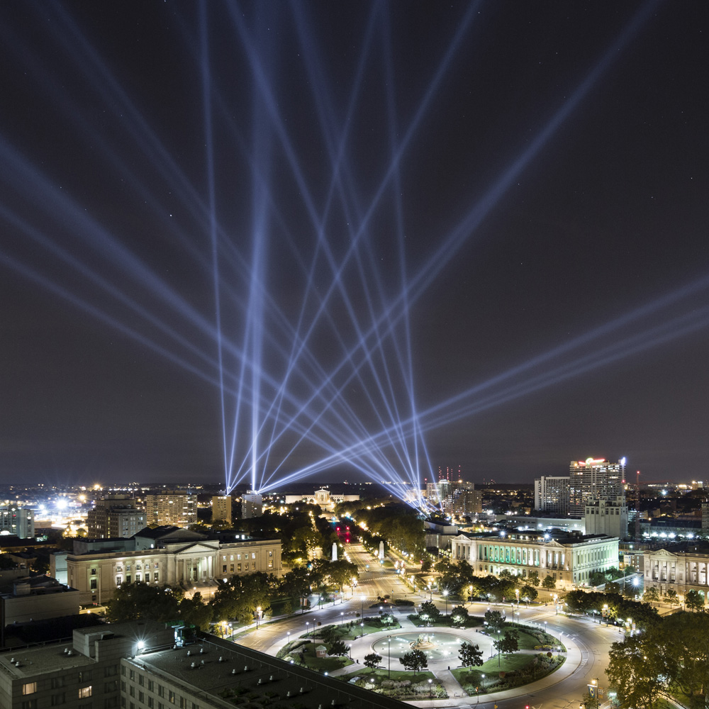 Open Air lights up Philadelphia's Logan Circle and beyond