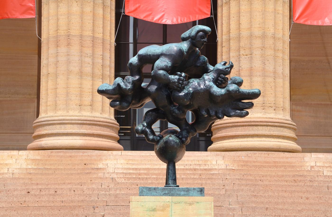 Prometheus Strangling the Vulture - Association for Public Art