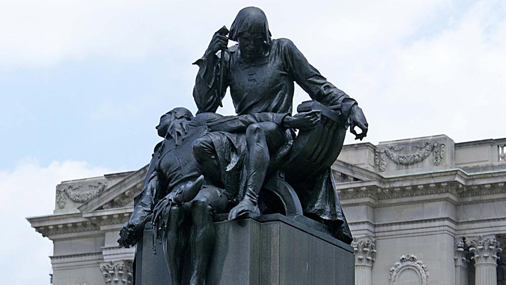 Shakespeare Memorial by Alexander Stirling Calder