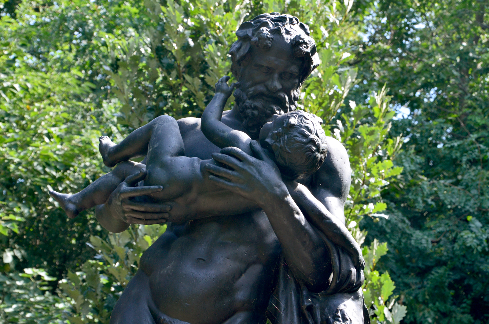 Silenus and the Infant Bacchus