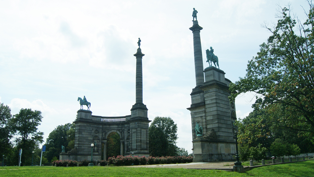 Smith Memorial Arch in West Fairmount Park