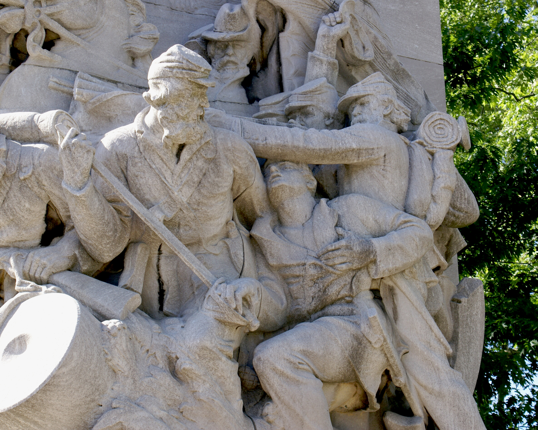 Civil War Soldiers and Sailors Memorial by Hermon Atkins MacNeil