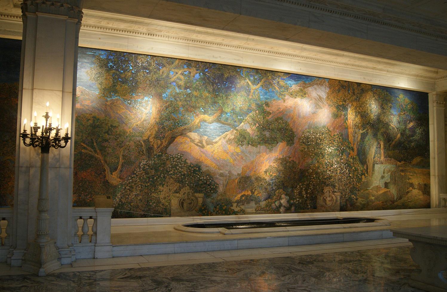 The Dream Garden mosaic