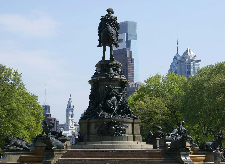 Washington Monument - detail