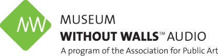 Museum Without Walls logo: a program of the Association for Public Art