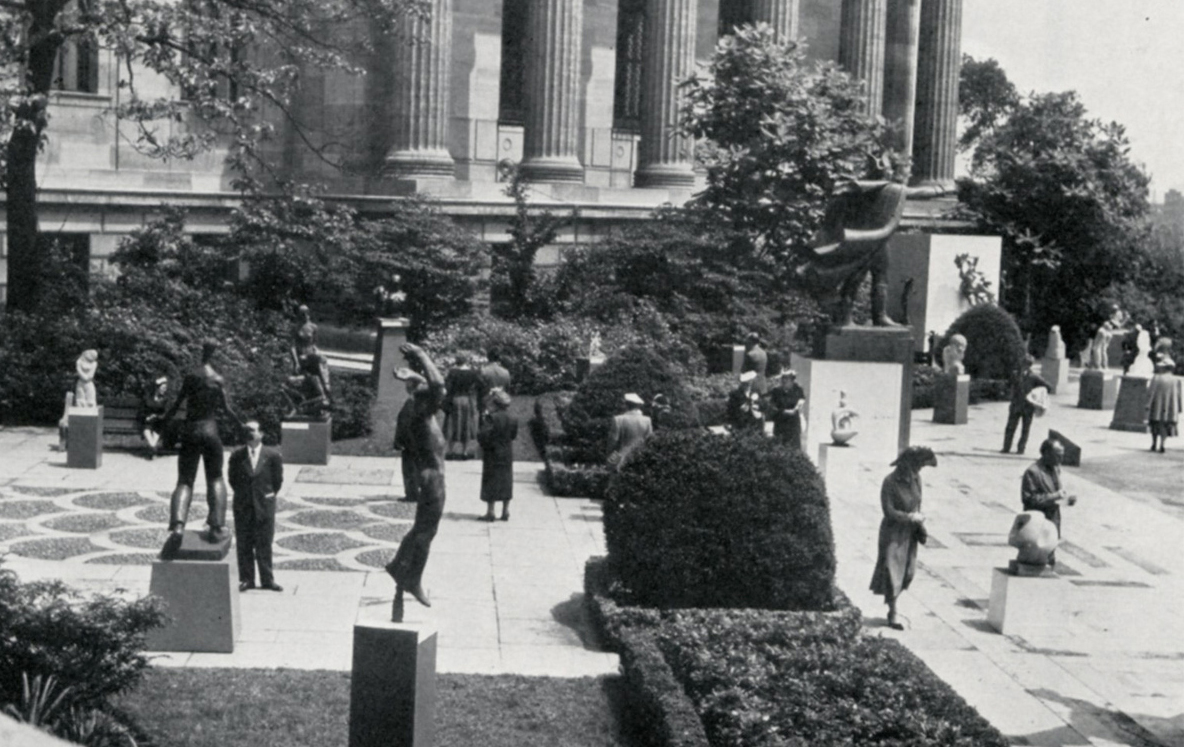 Sculpure International at the Philadelphia Museum of Art, 1949