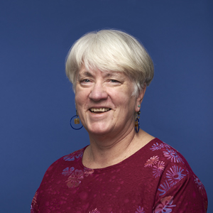 Portrait of aPA's Office Manager Ginger Osborne