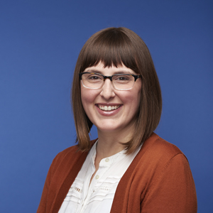 Portrait of aPA's Media and Communications Manager Caitlin Martin