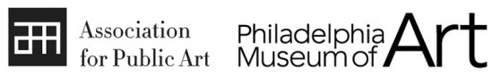 Association for Public Art and Philadelphia Museum of Art logos