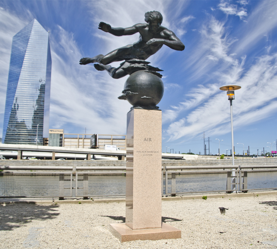 Walker Hancock's Air sculpture