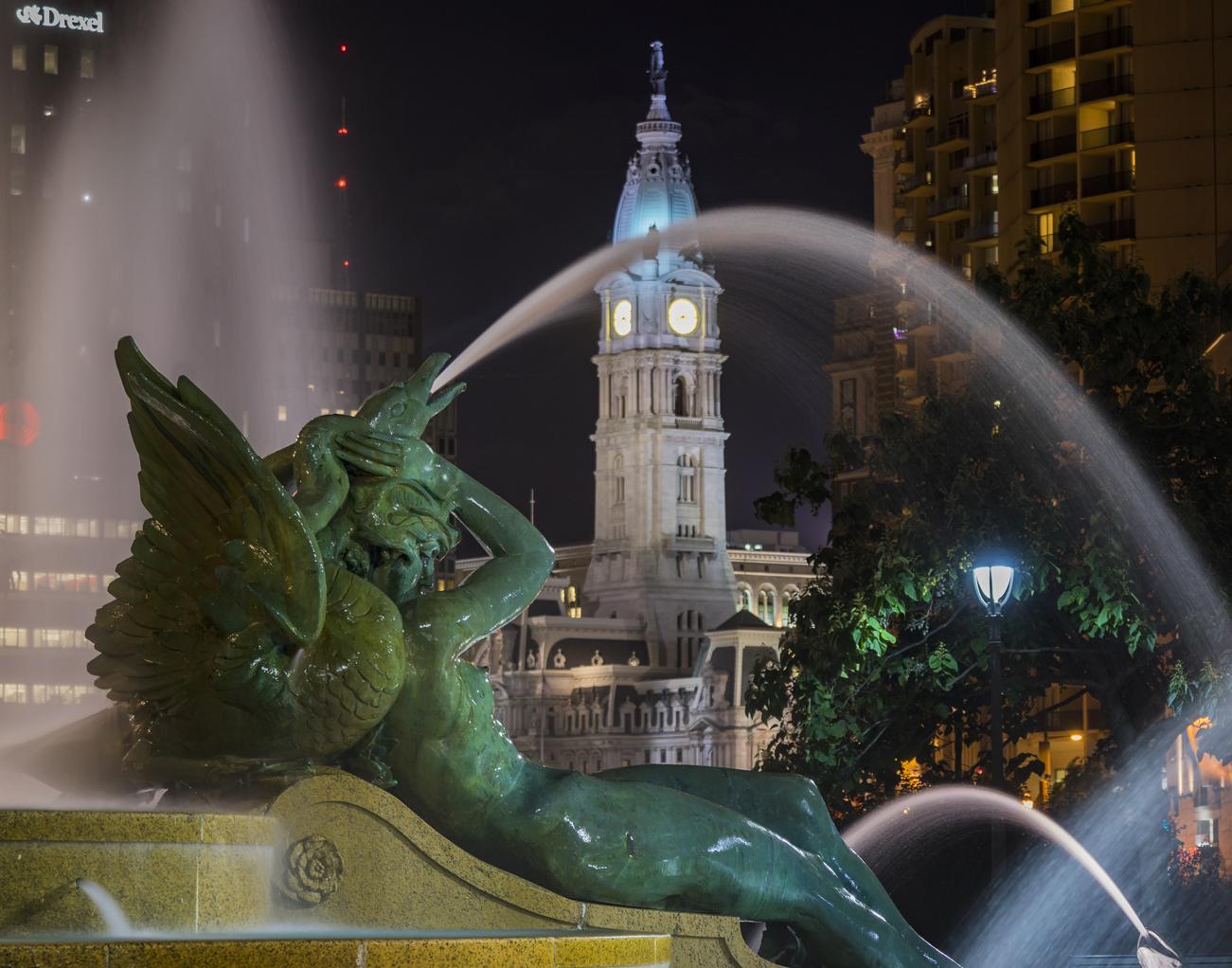 Swann Memorial Fountain - Night Photography Workshop