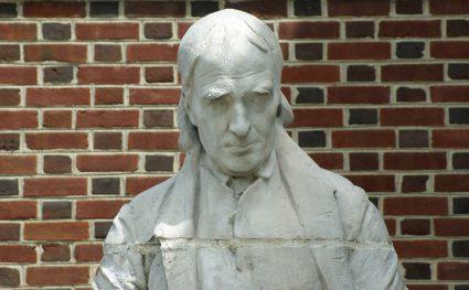 John McMillan of the Calder Statues