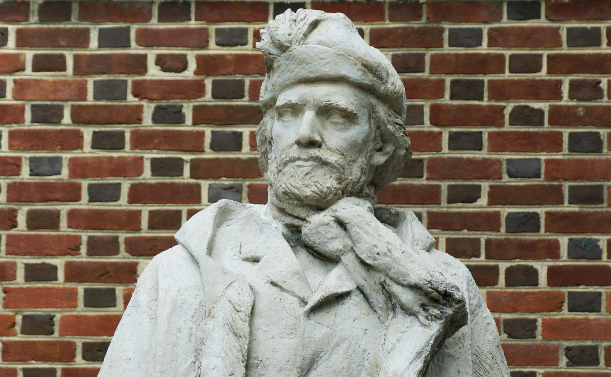 Marcus Whitman of the Calder Statues