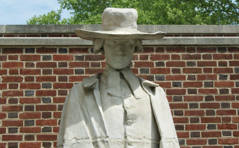 Samuel Davies of the Calder Statues