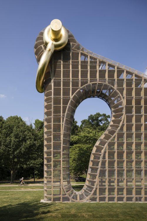 Martin Puryear, <em>Big Bling</em>, 2016. Collection of the artist, courtesy of Matthew Marks Gallery © Martin Puryear. Photo James Ewing Photography © 2017 for the Association for Public Art.