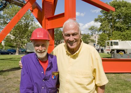 David Pincus and Mark di Suvero