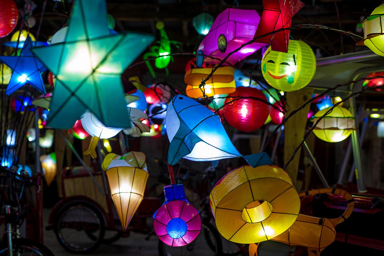 Cai Guo-Qiang Fireflies lanterns