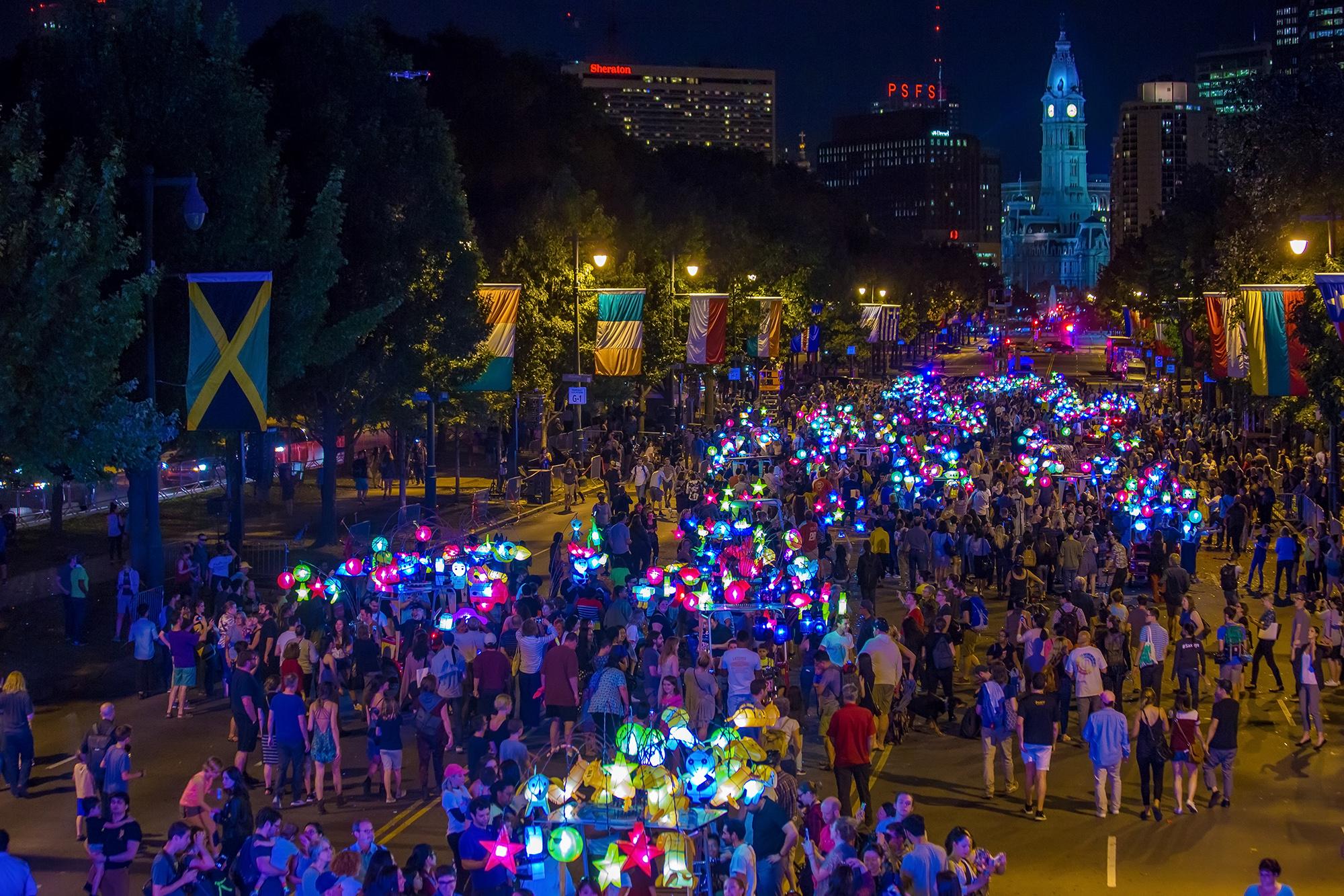 Cai Guo-Qiang: Fireflies