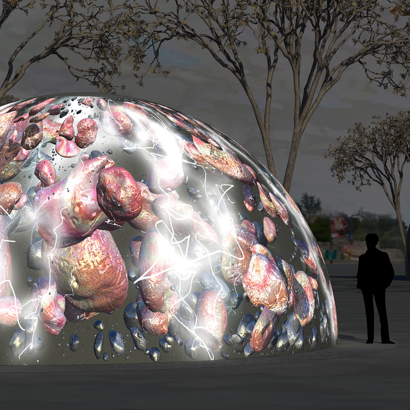 winter fountains association for public art