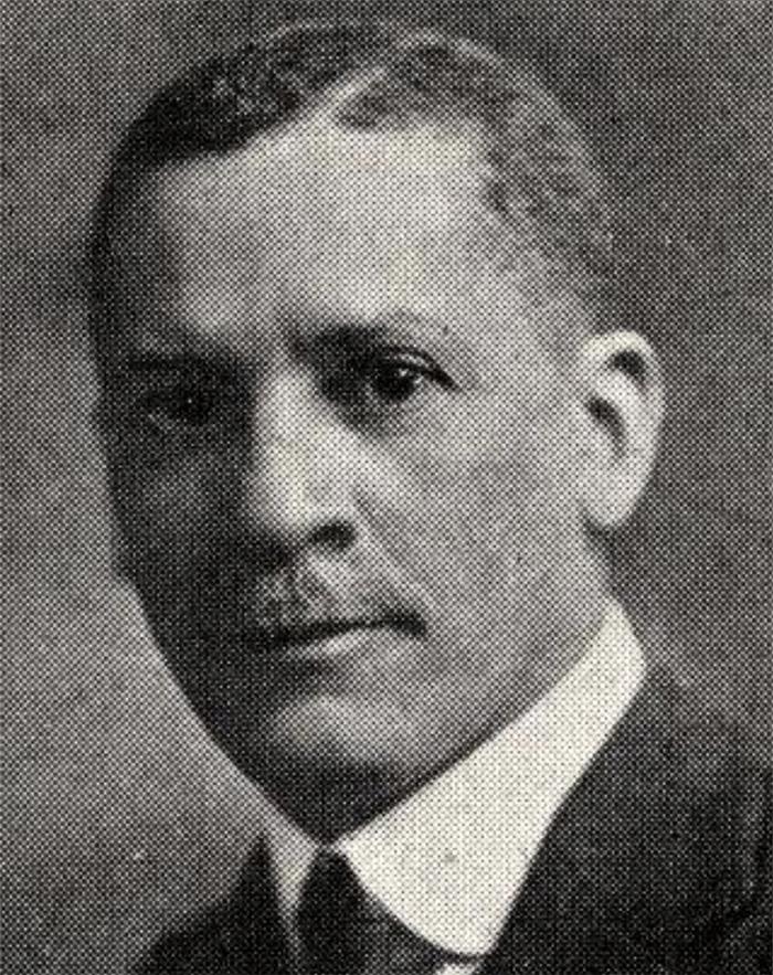 1902 portrait of Samuel Beecher Hart